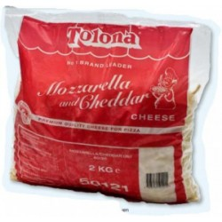 Ost Mozarella Frys ca.2kg/Påse