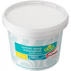 Turkisk Yoghurt 5kg/Hink
