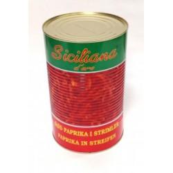 Salladspaprika Röd.5Kg/Burk