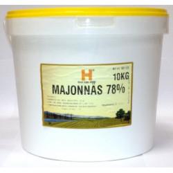 Majonnäs Halland 78% 10kg/Hink